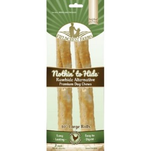 NOTHIN HIDE chewing roll chicken 25cm 2pc
