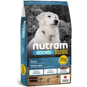 Nutram S10 SOUND SENIOR koeratoit 11,4kg