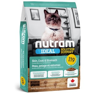 Nutram I19 Ideal Solution Support Skin & Coat Cat Food 1,8 kg