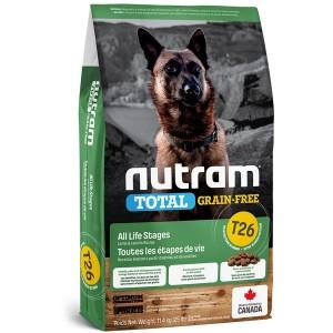 Nutram T26 Total Gran Free Lamb & Legumes Dog Food 2kg