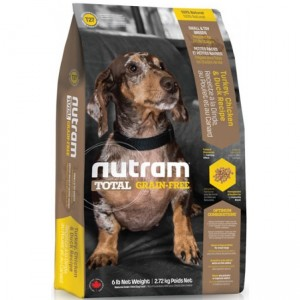 Nutram T27 Total Grain Free Small Breed Chicken & Turkey Dog Food 500g