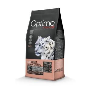 OPTIMANOVA CAT Salmon&Potato GF 400g