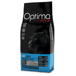 OPTIMANOVA CAT LIGHT cat food 8kg