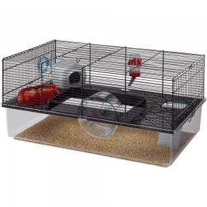 FP. FAVOLA  cage for rodents 60x36,5x30 black