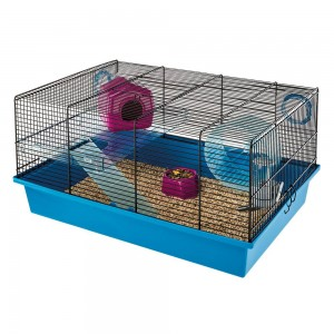 FP.Cage MILOS Medium, Black for hamsters, mice