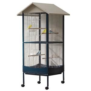 Savic GITE 1 Bird Cage navy blue 60x60x168cm