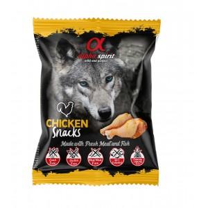 AlphaSpirit DOG treat WITH CHICKEN 50g