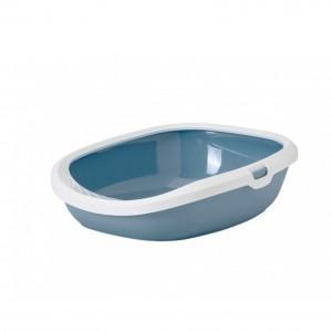 Savic Gizmo litter box white/blue
