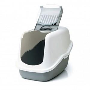 Savic Cat Toilet NESTOR white /gray