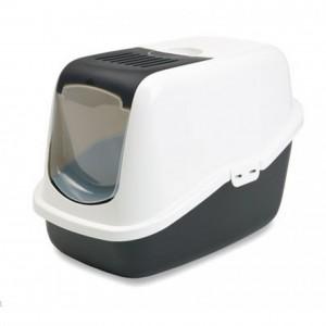 Savic Cat Toilet NESTOR white/black