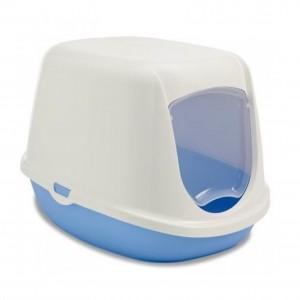 Savic Cat litter box DUCHESSE white/blue