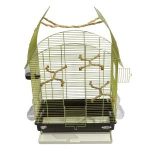 Imac bird cage AGATA gold/brown