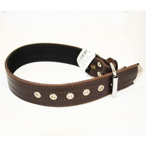 Onega collar leather + nailon 40mm*70cm