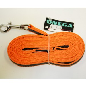 Onega leash KUMMEER orange 20mm x 5m