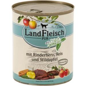 Landfleisch Beef Heart & Rice 800g
