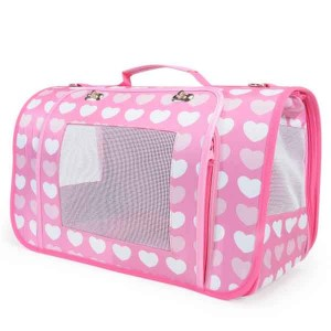 Camon Pet Bag pink/blue 50x27x26 cm