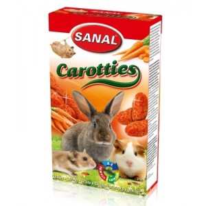 Sanal carrot treat for rodents 45g