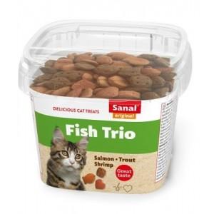 Sanal CAT treat FISH TRIO 75g