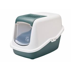 Savic litter box NESTOR white/green