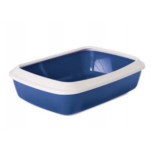 Savic Cat Litter Tray IRIZ 50cm white/blue