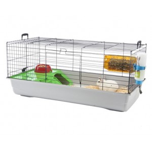 Savic NERO3 DeLux rabbit cage grey