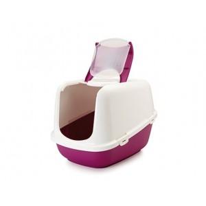 Savic Cat Toilet NESTOR JUMBO white/red
