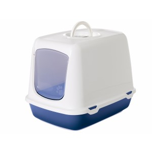 Savic cat toilet OSCAR white/blue