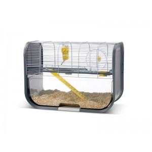 Savic LUGANO hamster cage silver/grey