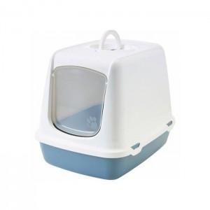 Savic cat litter box OSCAR white/blue