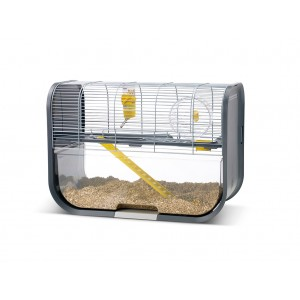 Savic GENEVA hamster cage silver/grey
