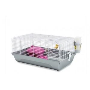 Savic Martha Triple Rodent Cage white/silver