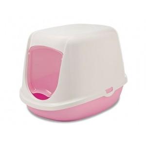 Savic litter box DUCHESSE white/pink