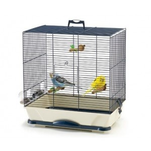 Savic PRIMO 40 bird cage white/pink