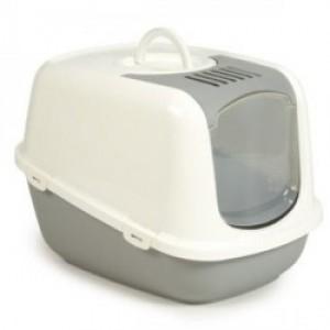 Savic Cat Toilet NESTOR JUMBO white/mocca