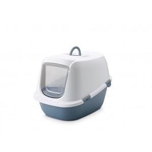 Savic cat litter box LEO white/blue