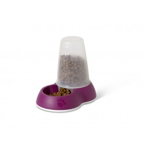 Savic Pet Feeder S 0,75L red
