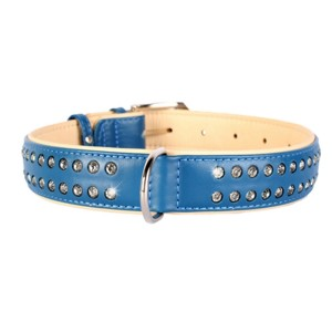 CO collar 9mm18-21cm blue