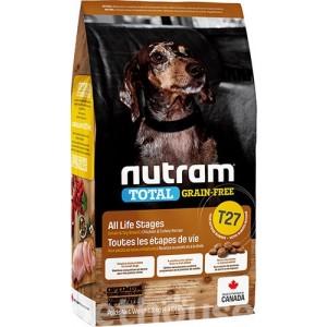 Nutram T27 Small Breed chicken&duck 2,72kg