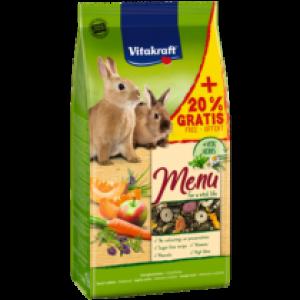 Vitakraft VITAL MENU rabbit food 1kg+200g