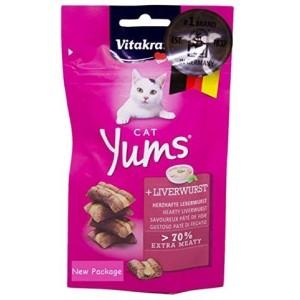 Vitakraft CAT YUMS treat 40g+20%