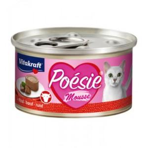 Vitakraft POESIE Mousse + Beef 85g