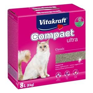 Vitakraft cat litter Compact Ultra + 8kg +25%