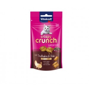 Vitakraft CRISPY CRUNCH turkey+chia 60g