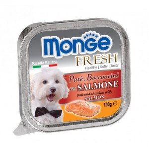 Monge Dog Fresh Salmon 100g