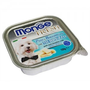 Monge Dog Fresh Codfish 100g