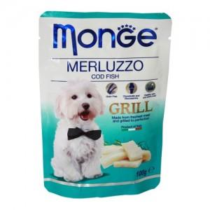 Monge Dog Grill Codfish 100g