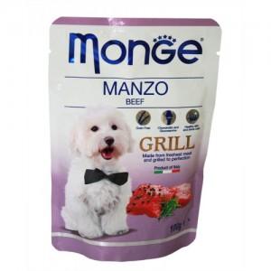 Monge Dog Grill Beef 100g