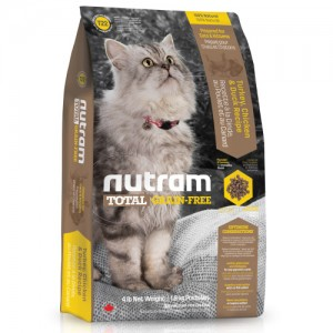 Nutram T22 Total Grain Free Chicken & Turkey Cat Food 6,8 kg