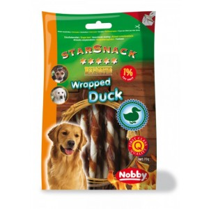 Nobby Starsnack BBQ Wrapped Duck 70g