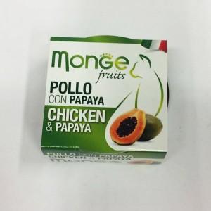 Monge Cat Fruit Chicken & Papaya 80g